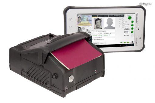 Mobiles Dokumentenlesegerät Regula 7308